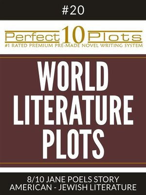 "cover image of Perfect 10 World Literature Plots #20-8 ""JANE POELS STORY – AMERICAN--JEWISH LITERATURE"""