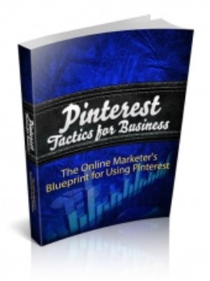 cover image of Pinterest Tactics for Business