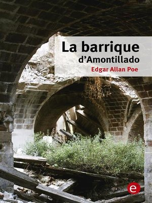 cover image of La barrique d'Amontillado