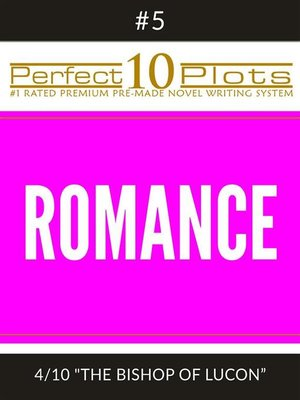 "cover image of Perfect 10 Romance Plots #5-4 ""THE BISHOP OF LUCON"""