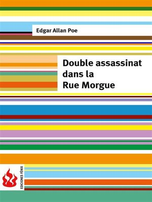 cover image of Double assassinat dans la rue morgue (low cost). Édition limitée
