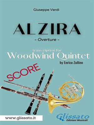cover image of Alzira--Woodwind Quintet (score)