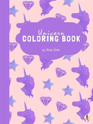 cover image of Unicorn Coloring Book for Kids Ages 6+ (Printable Version)