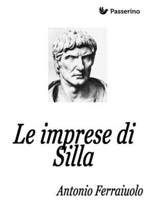 cover image of Le imprese di Silla