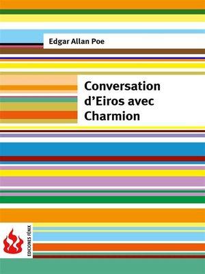 cover image of Conversation d'Eiros avec Charmion (low cost). Édition limitée