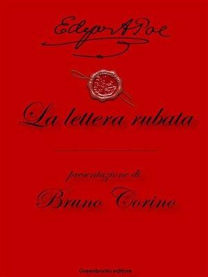 cover image of La lettera rubata