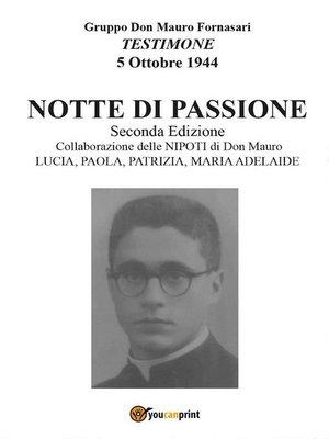 cover image of Notte di passione