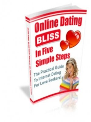 cover image of Online Dating Bliss in 5 Simple Steps