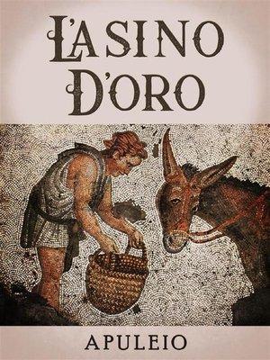 cover image of L'asino d'oro