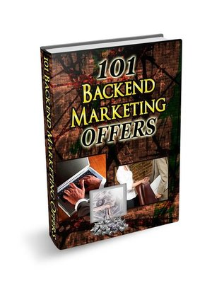 cover image of 101 Backend Marketing Offers