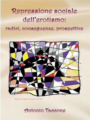 cover image of Repressione sociale dell'erotismo