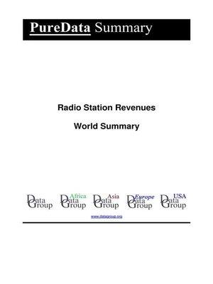 cover image of Radio Station Revenues World Summary
