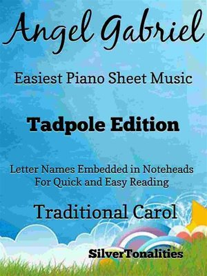 cover image of Angel Gabriel Easiest Piano Sheet Music Tadpole Edition