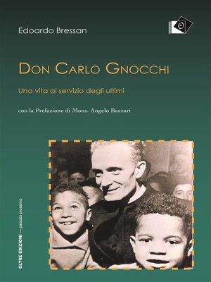 cover image of Don Carlo Gnocchi