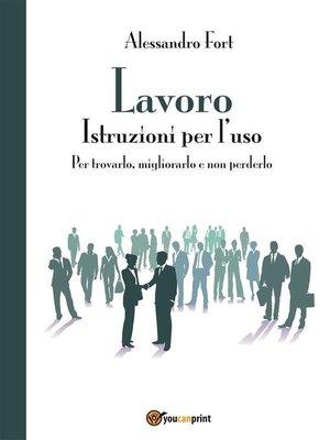 cover image of Lavoro- Istruzioni per l'uso