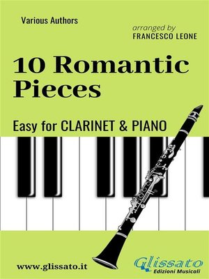 cover image of 10 Romantic Pieces--Easy for Clarinet and Piano