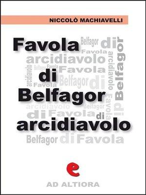 cover image of Favola di Belfagor Arcidiavolo