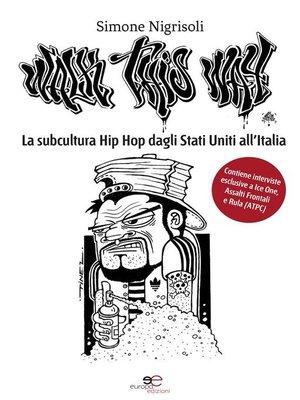 cover image of La subcultura Hip Hop dagli Stati Uniti all'Italia