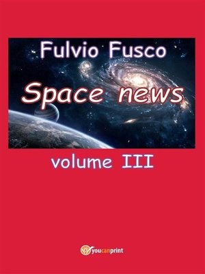 cover image of Space News--Volume 3