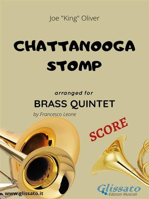 cover image of Chattanooga stomp--Brass Quintet SCORE