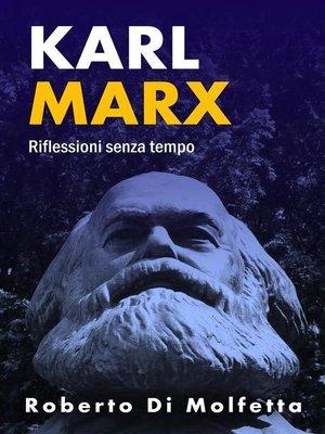 cover image of Riflessioni su Karl Marx