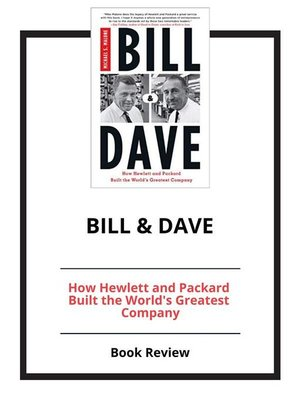 cover image of Bill & Dave
