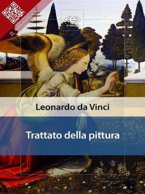 cover image of Trattato della pittura