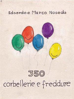 cover image of 350 corbellerie e freddure