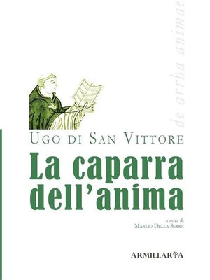 cover image of La caparra dell'anima