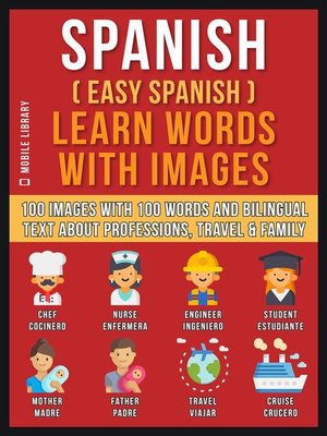 cover image of Spanish ( Easy Spanish ) Learn Words With Images (Vol 1)