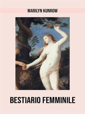 cover image of Bestiario femminile