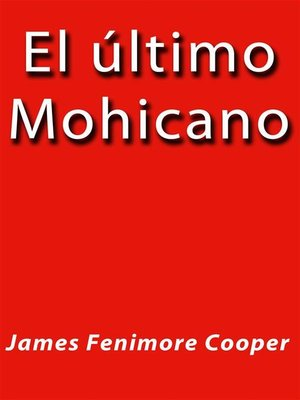 cover image of El ultimo Mohicano
