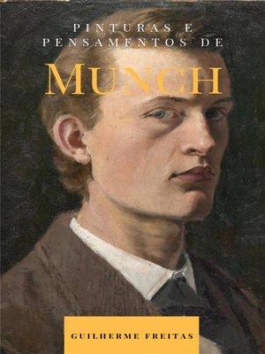 cover image of Pinturas e pensamentos de Munch