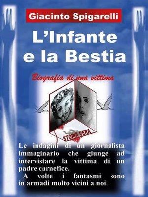 cover image of L'infante e la bestia