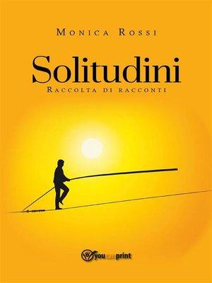 cover image of Solitudini (raccolta di racconti)