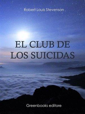 cover image of El club de los suicidas