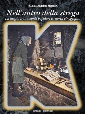 cover image of Nell'antro della strega