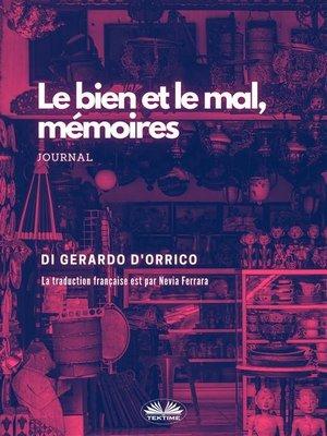 cover image of El Bien Y El Mal, Memorias