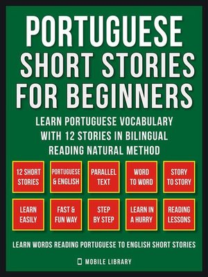 cover image of Portuguese Short Stories For Beginners (Vol 1)