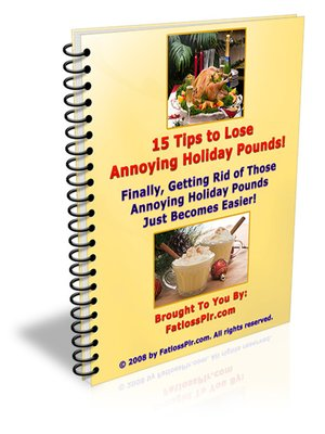 cover image of 15 Tips to Lose Annoying Holiday Pounds!