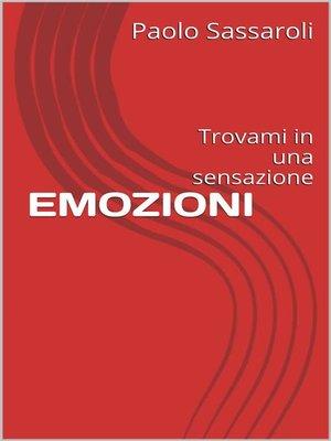 cover image of Emozioni