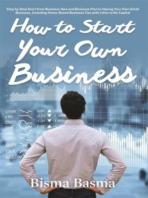 cover image of How to Start Your Own Business