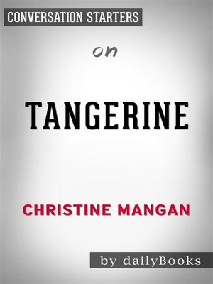 cover image of Tangerine--by Christine Mangan