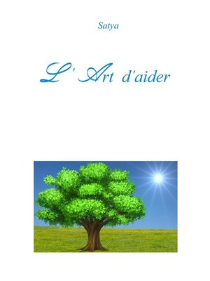 cover image of L'Art d'aider