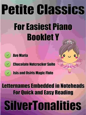cover image of Petite Classics for Easiest Piano Booklet Y