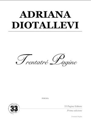 cover image of Adriana Diotallevi