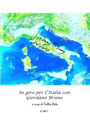 cover image of In giro per l'Italia con Giordano Bruno