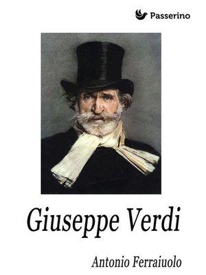 cover image of Giuseppe Verdi