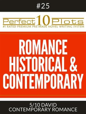 "cover image of Perfect 10 Romance Historical & Contemporary Plots #25-5 ""DAVID – CONTEMPORARY ROMANCE"""