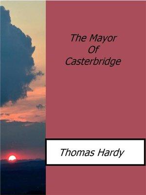 the depiction of wessex in hardys the mayor of casterbridge Descargar the mayor of casterbridge gratis en formato pdf y epub descargar the mayor of casterbridge, de thomas hardy para kindle, tablet in upper wessex.